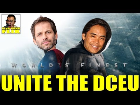 WALTER HAMADA AND ZACK SNYDER COULD UNITE THE DCEU