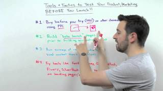 Tools and Tactics to Test Your Product/Marketing Before You Launch - Whiteboard Friday