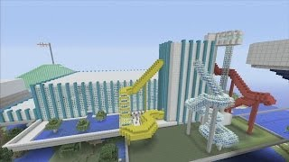 Minecraft xbox Epic Structures: xSLIMSHADY1230x's Aqua Waterpark