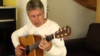Ye Banks And Braes -Fingerstyle Guitar- Arrangement by Tony McManus
