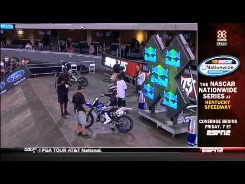 X Games 18 Motocross Freestyle 2012