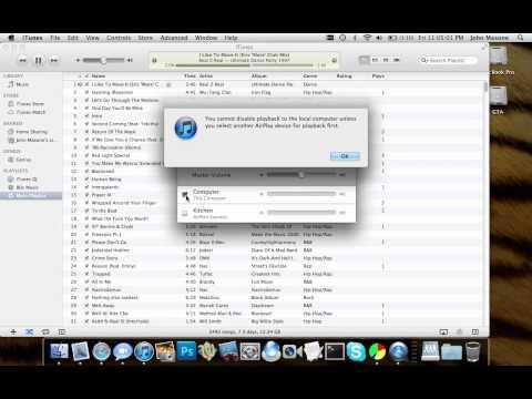 Broken AirPlay in iTunes