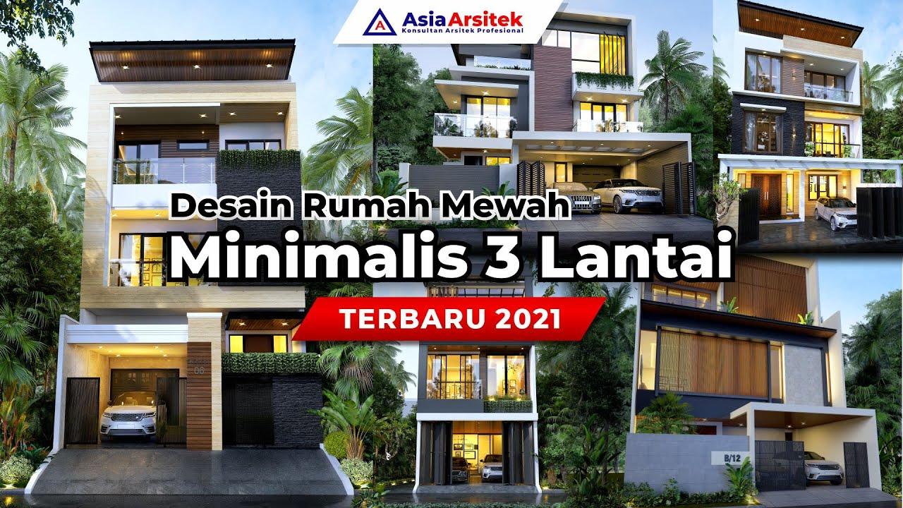 Desain Rumah Minimalis 3 Lantai Terbaru 2021 Youtube