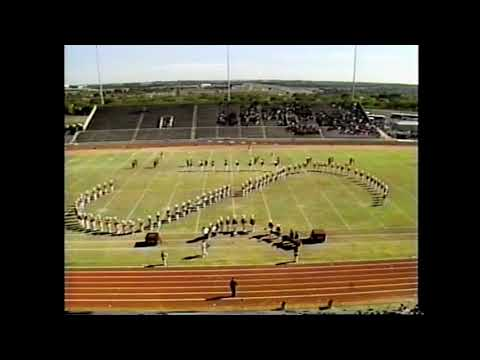 Iraan High School Band 1990 - UIL 2A Texas State Marching Contest