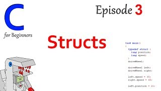 Structs - Part 3 of C Programming for Beginners