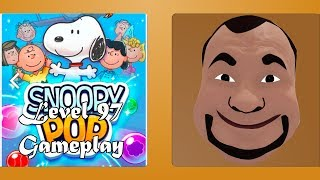 Snoopy Pop 🐶 - Bubble Shooter Level 97 by Jam City Gameplay #97 ✅