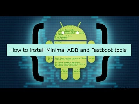 How To Install Minimal ADB and Fastboot on Pc [ Easiest way ]