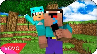 RAPIDITO 🎤 PARODIA MUSICAL MINECRAFT (BEBE MILO) | Luis Fonsi - Despacito ft. Daddy Yankee Justin Video
