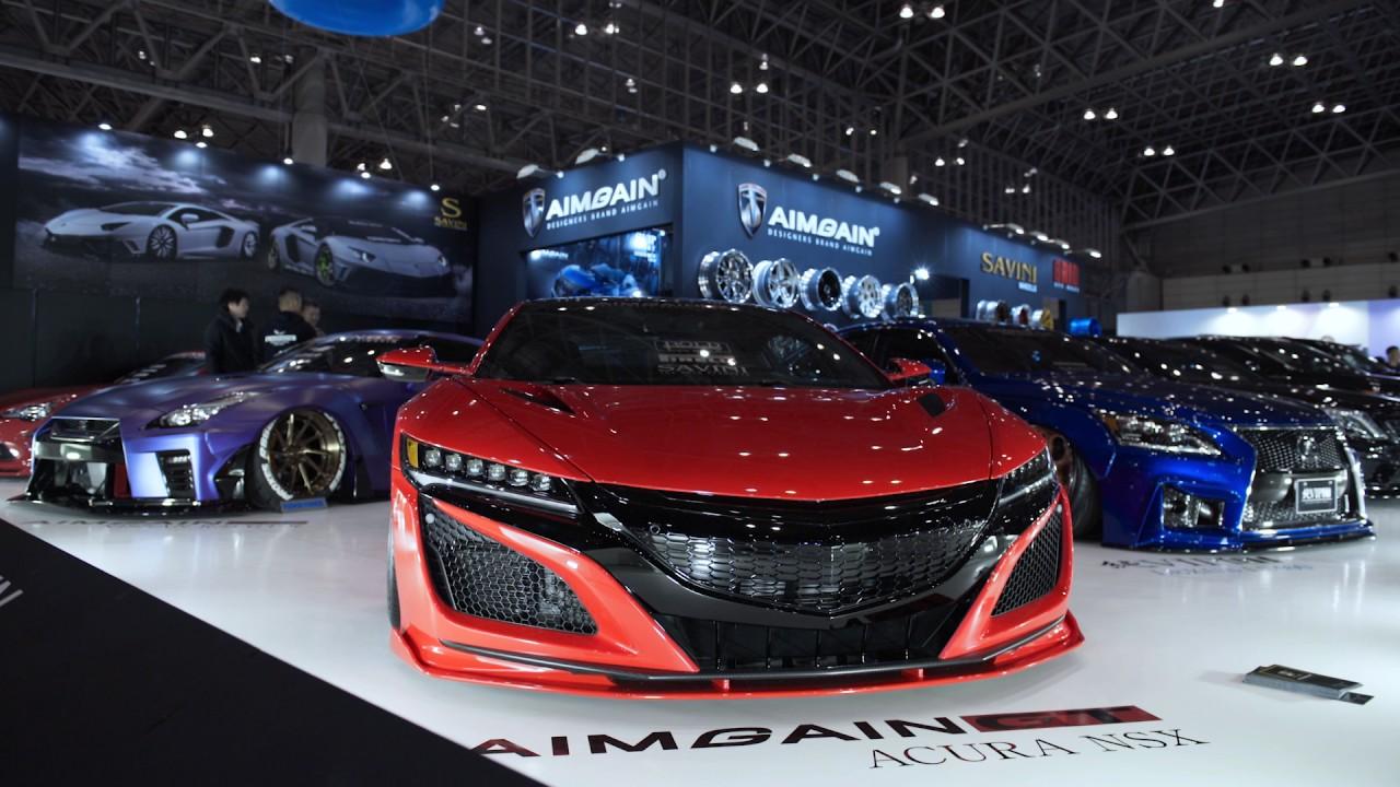Toyo tires tokyo auto salon 2017 youtube for Salon auto avignon 2017