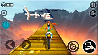 Impossible Moto Bike Tracks 3D: All Motos Driving - Android Gameplay