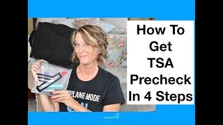 TSA Precheck (4 Steps)