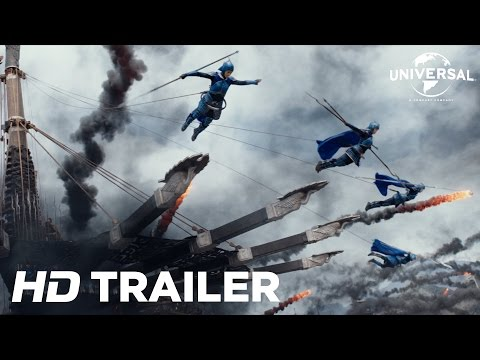 The Great Wall Official Trailer 2 (Universal Pictures) HD
