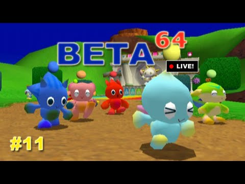 Beta64 Live - Sonic Adventure DX #11 (JFF)