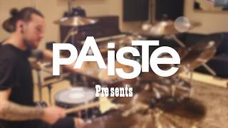 Paiste Artist Impressions: CHRIS ALLAN with 900 Series