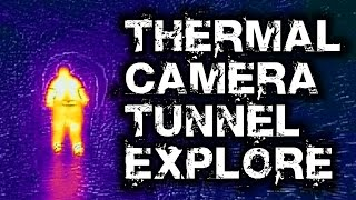 Thermal Camera in Carcass Cave - Flir One Test