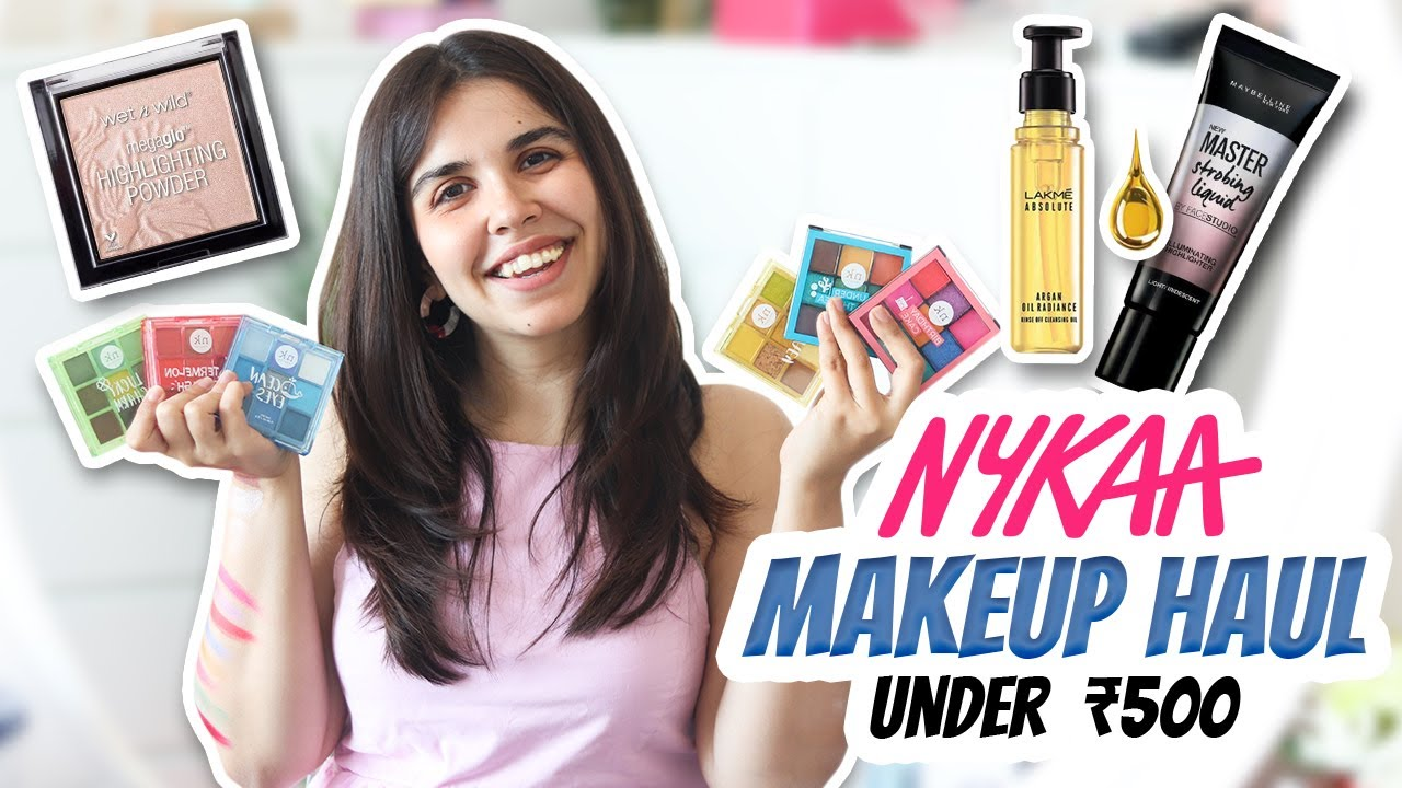 *HUGE* Nykaa Sale Haul! Best Affordable Makeup Under Rs 500 | Heli Ved