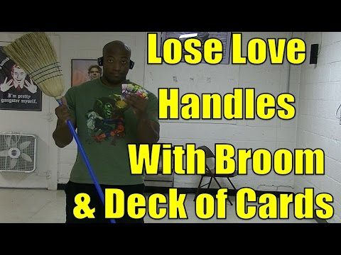 How to Get Rid of Love Handles Fast w/ a Deck of Cards & a Broom in 37min