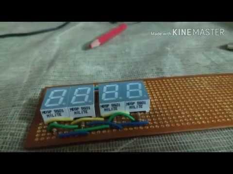 7 SEGMENT DISPLAY DIGITAL CLOCK USING ARDUINO