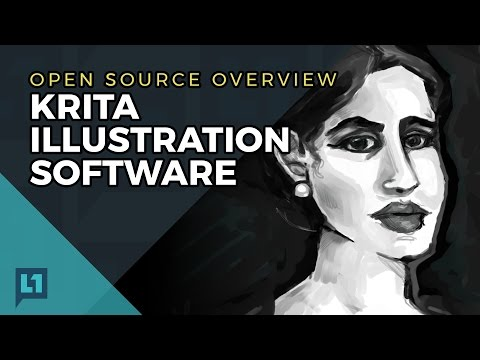 Open Source Overview: Krita Illustration Software