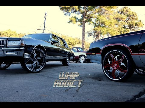 WhipAddict: Oldsmobile Hurst Cutlass on Corleone Forged 24s, Caprice LS on 26s, C.P.C