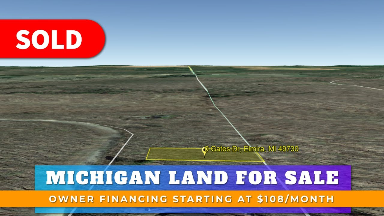 Just Sold By WeSellNewYorkLand.com - Cheap Land For Sale Lot 290 Gates Dr Elmira, Michigan