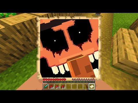 This villager traded me cursed photo in Minecraft..