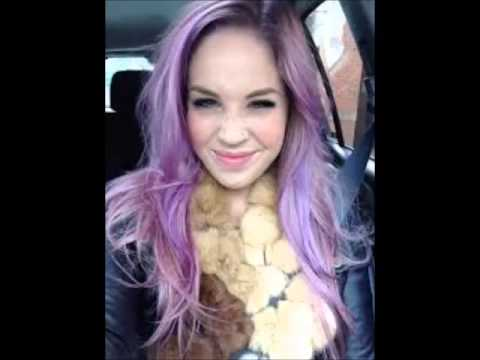 color changing hair is it blue purple violet or pink
