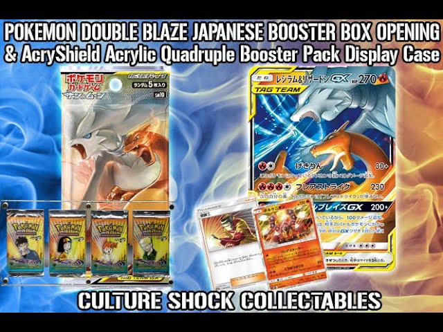 Pokemon Double Blaze Japanese Booster Box Opening