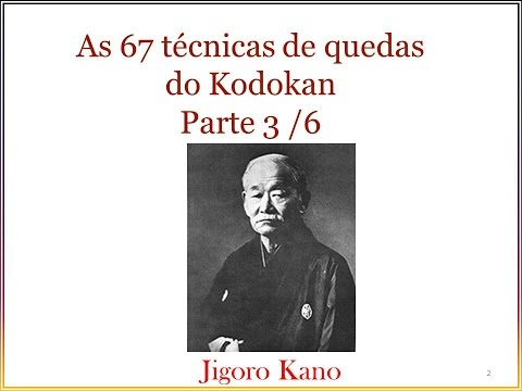 JUDO AS 67 QUEDAS DO KODOKAN PARTE 3 / 6.  Instituto Shobukan
