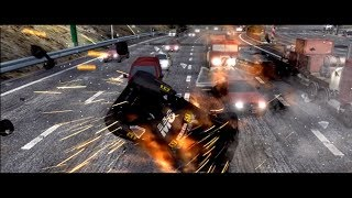 Burnout 3: Takedown (XBOX) | Brutal Crashes & Takedowns Compilation | 1080p