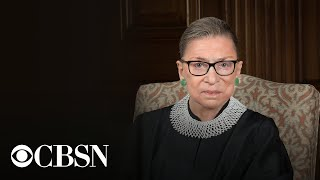 Ruth Bader Ginsburg honored in Supreme Court ceremony