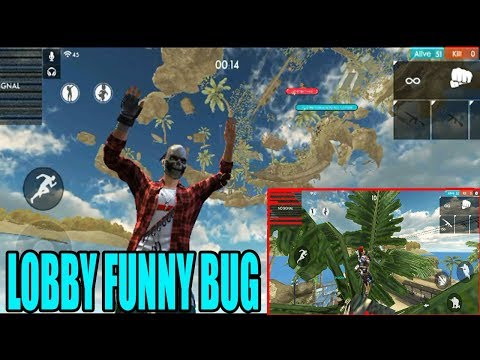 LOBBY FUNNY BUG | FREE FIRE NEW BUGS | TLUGU GAMING ZONE