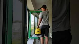 seřízení oken a opravy   čištění kování párou