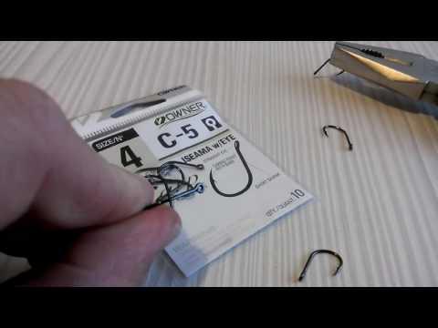 Рыболовные крючки owner c-5 karp