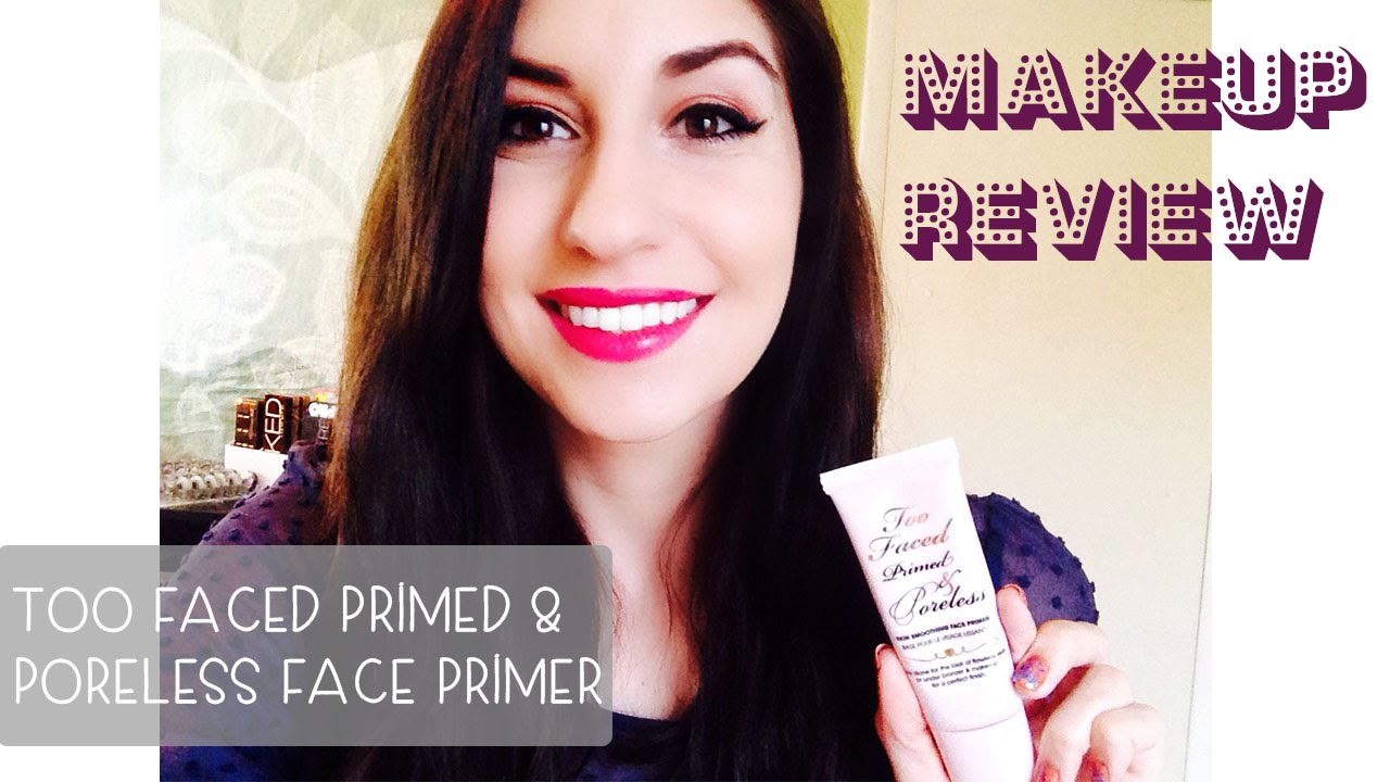 Primed & Poreless Skin Smoothing Face Primer by Too Faced #14