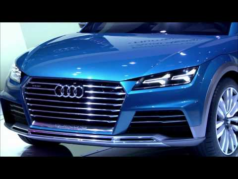 Audi allroad shooting brake Debut at the NAIAS 2014 | AutoMotoTV