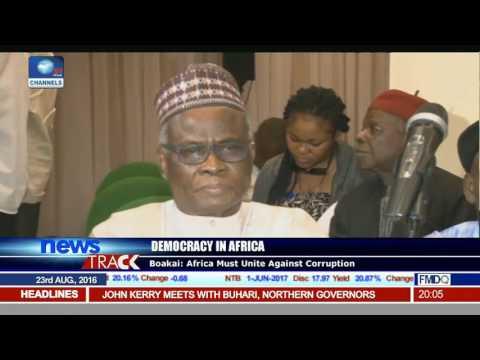 Liberia VP Urges Africa To Unite Against Corruption