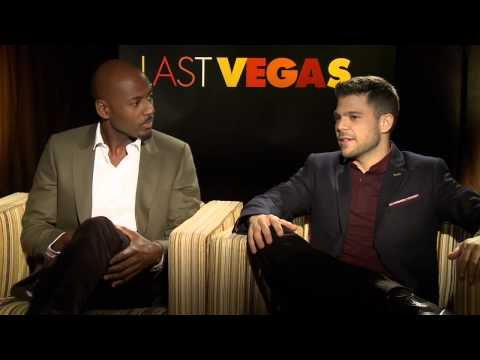 Last Vegas: Jerry Ferrara & Romany Malco Official Movie Interview (Junket)