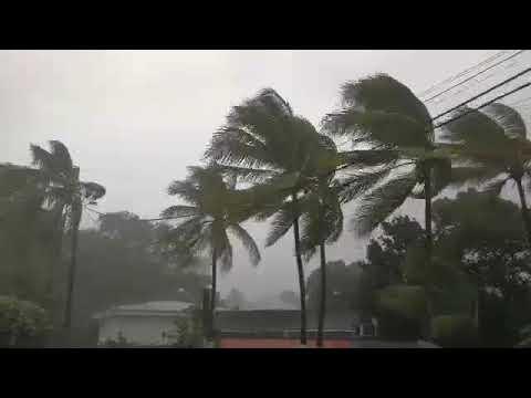 Irma : Les 1ères vidéos prises par une Réunionnaise en Guadeloupe