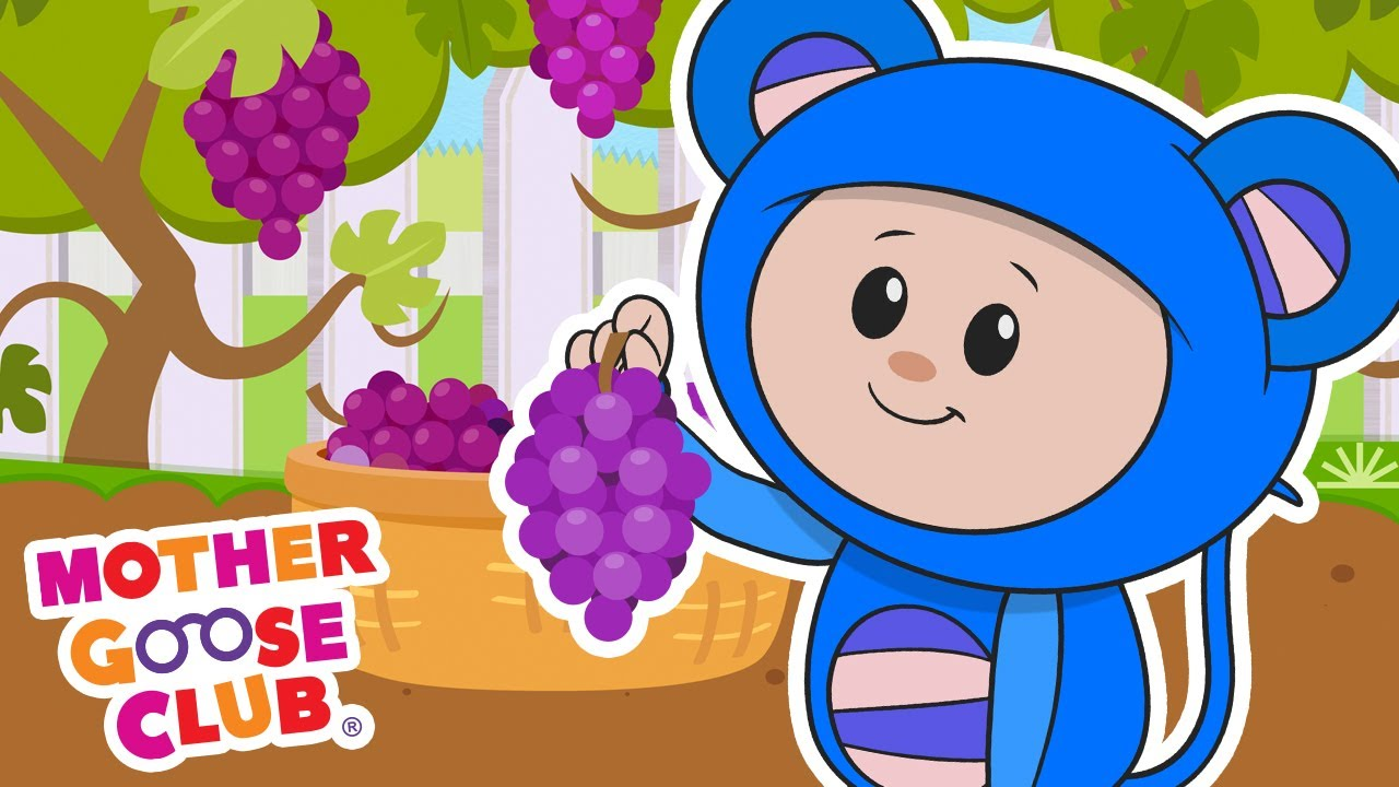 The Planting Song + More | Mother Goose Club Cartoons #NurseryRhymes