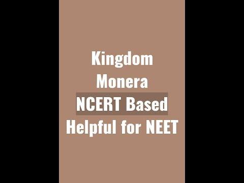 Kingdom Monera- Biological Classification Part I-Based on NCERT Helpful For NEET