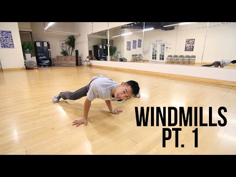 Learn How To Breakdance | Beginner Windmills Pt. 1 | Power Move Basics