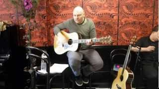 """Billy Corgan at Madame Zuzu's Tea House Opening signing """"In the Arms of Sleep"""""""