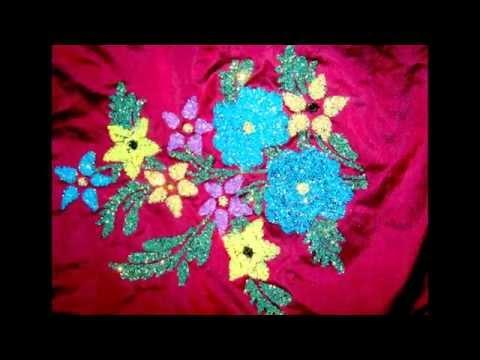 Saree paints by Madhavi Designs