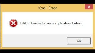 Corrigir no KODI a mensagem