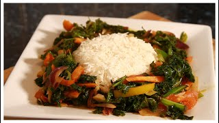 Meat Free Monday Steamed Vegetable With Rice | Chef Ricardo Cooking | #MeatFreeMonday