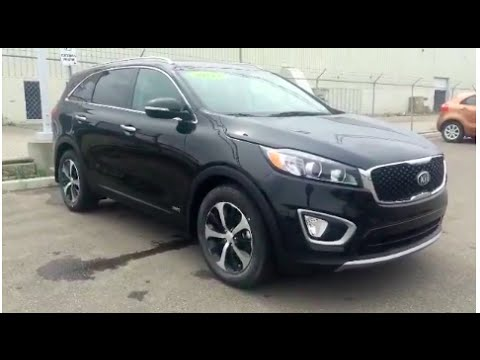 2017 kia sorento ex turbo awd leather heated seats youtube. Black Bedroom Furniture Sets. Home Design Ideas