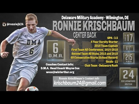 Ronnie Krischbaum Highlights, Delaware Military Academy