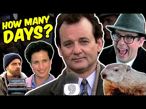 Groundhog Day lasts HOW LONG for Bill Murray?