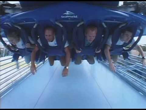 Watch This Manta Roller Coaster POV | SeaWorld Orlando